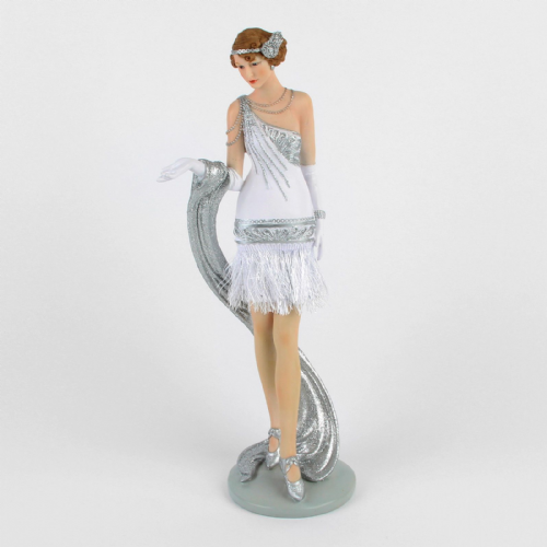Juliana Gatsby Girls - Art Deco 1920s Lady Figurine - Frances 58231